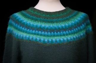 Green Wood pullover cardigan Bohus Stickning - Green Wood jumper/kofta kit