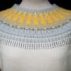 Ringdansen pullover cardigan Bohus Stickning - The Ringdance white mc pullover/cardigan kit english instruction