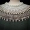 Stora Spetskragen pullover Bohus Stickning - The Large Lace Collar gray mc pullover kit english instruction
