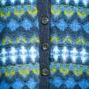 Royal Blue pullover cardigan Bohus Stickning - Royal Blue pullover/cardigan kit english instruction