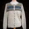 Blå Eskimå - Blue Eskimo pullover cardigan Bohus Stickning - Blue Eskimo straight yoke english instr. women´s pullover cardigan kit