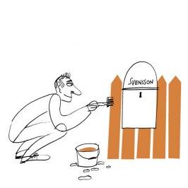 Illustration för tidningen Kupé