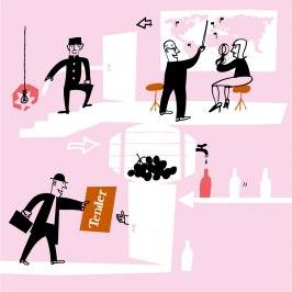 DEL AV Illustration för Systembolaget