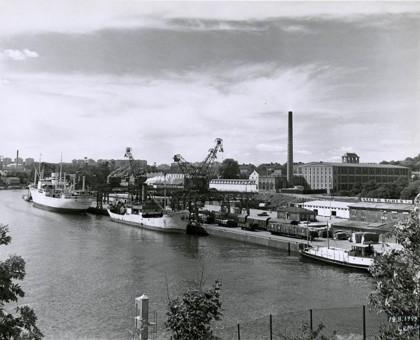 Barnängskajen 1949