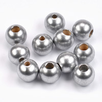 Säkerhetspärlor silver, 12mm