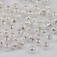 Stardust pärlor silver, 4mm