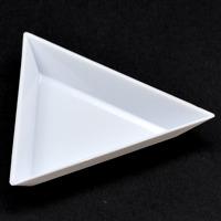 Trekantiga pärlskålar, 3 st