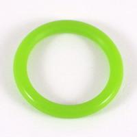 Silikonring ljusgrön
