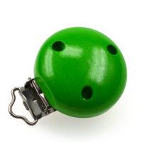 Träclips, grön