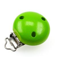Träclips, ljusgrön