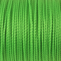 Polyestersnöre, ljusgrön, 1,5mm