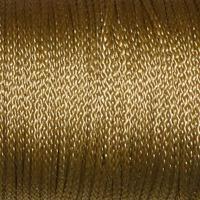 Polyestersnöre, guld, 1,5mm