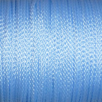 Polyestersnöre, ljusblå, 1,5mm
