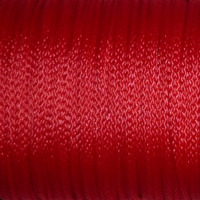 Polyestersnöre, röd, 1,5mm