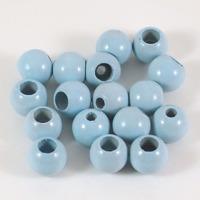 Säkerhetspärlor ljusblå, 10mm