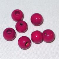 Säkerhetspärlor fuchsia, 12mm