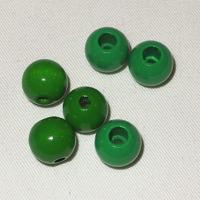 Säkerhetspärlor grön, 12mm