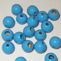 Säkerhetspärlor himmelsblå, 12mm