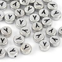 Bokstavspärlor silver *Y*
