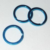 Nyckelring blå, 25mm