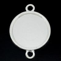 Ramconnectors, silver, stilren, 20mm – utförsäljning