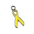 Berlock, awareness symbol, 9x16mm, 5st - gul