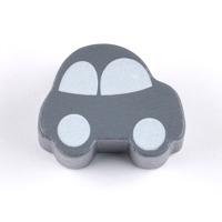 Motivpärla bil, grå