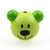 Motivpärla 3D-nalle, lime – utförsäljning