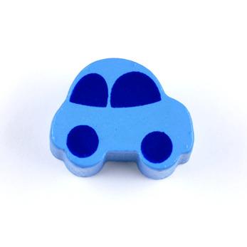 Motivpärla bil, himmelsblå