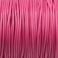 Vaxat polyestersnöre, cerise, 1,5mm