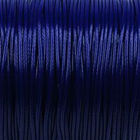 Vaxat polyestersnöre, mörkblå, 1,5mm