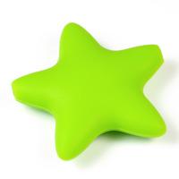 Stor silikonstjärna, ljusgrön