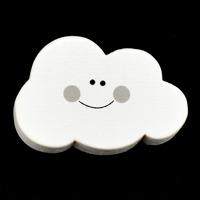 Motivpärla leende moln, grå – utförsäljning