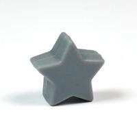 Liten silikonstjärna, mörkgrå