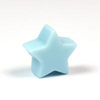 Liten silikonstjärna, ljusblå