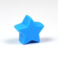 Liten silikonstjärna, blå