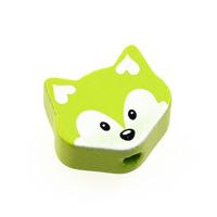 Motivpärla liten räv, lime – utförsäljning