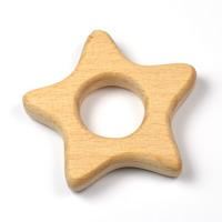 Naturlig träfigur, stjärna