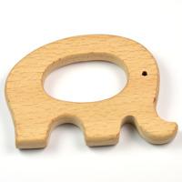 Naturlig träfigur, elefant