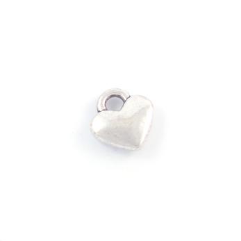 Berlock, små hjärtan, silver