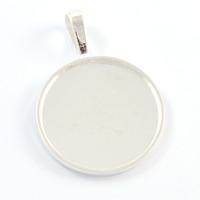 Elegant ramberlock, silver, 25mm