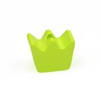 Motivpärla mini-krona, lime