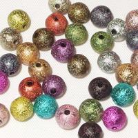 Stardust pärlor i akryl, 8mm