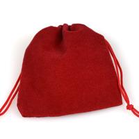 Sammetpåse röd, 7x9cm