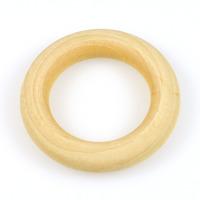 Naturlig träring utan hål, 54mm – utförsäljning