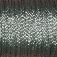 Polyestersnöre, grå, 1,5mm