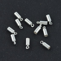Avslut, silver, 3mm