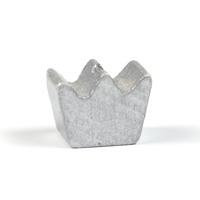Motivpärla mini-krona, silver