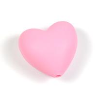 Silikonhjärta rosa