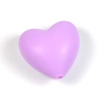 Silikonhjärta lavendel